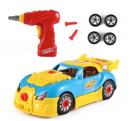 3world racing car take a part toy for kids by liberty imports