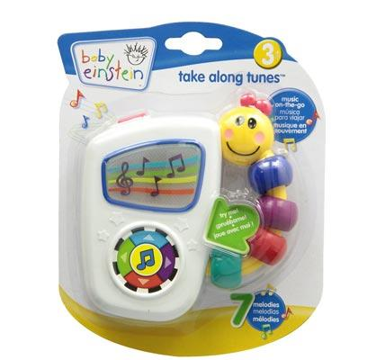 Baby Einstein Take Along Tunes the best gift for a 1 year old baby girl