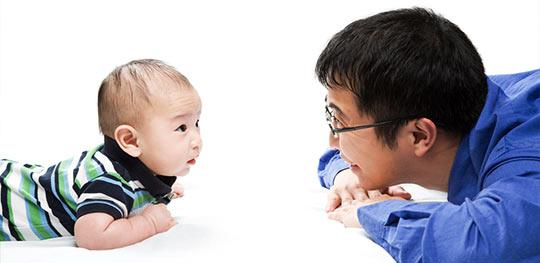 asian baby dad
