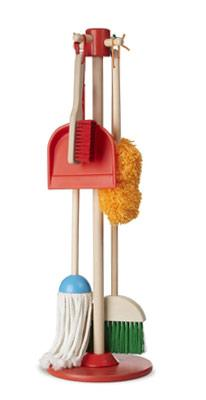 Dust-sweep and mop toys