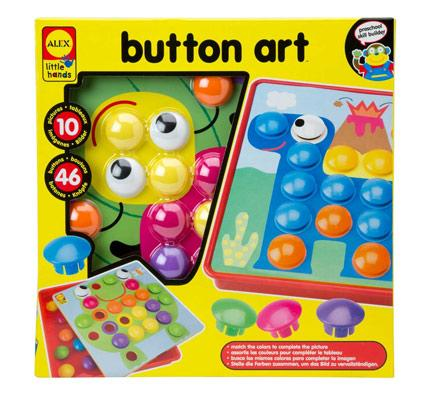 little hands button art