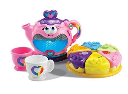 Musical rainbow tea set