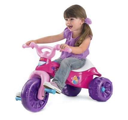 Barbie trike bike pink
