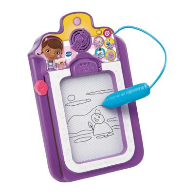 Talk and trace clipboard toy