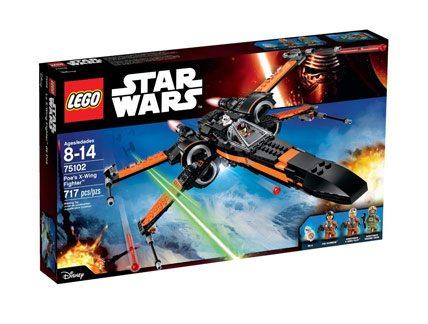 Poe s X wing fighter