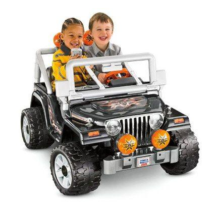 Power wheels tough talk