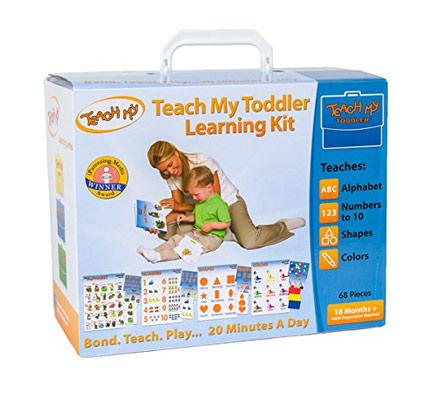 Toddler teaching kit