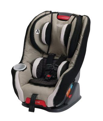 Pierce size 4 convertible car seat