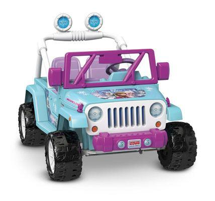 Power wheels disney frozen jeep