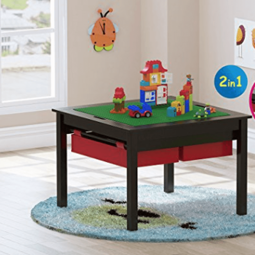Kids Construction Play Lego Table
