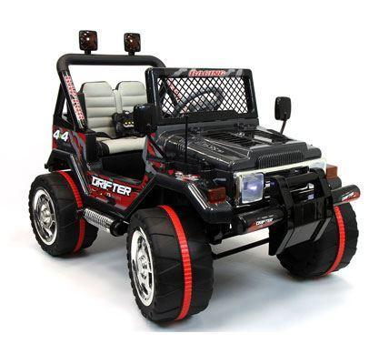Jeep wrangler style ride on car
