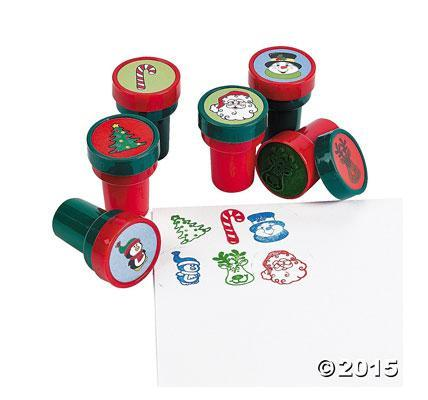 Holiday stampers Christmas stamps