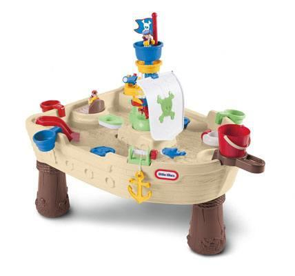 Anchors Away Pirate Ship Water Play Table