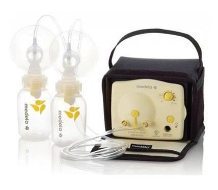 medela advanced 2-phase expression breast pump for mums inside