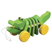 dancing alligator pull toy for kids string