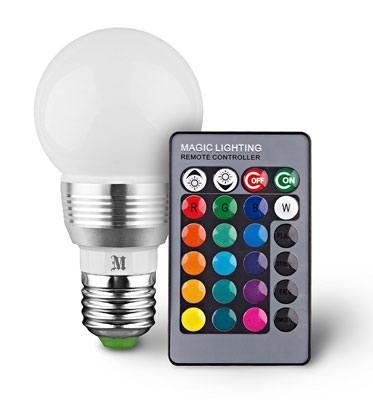 KOBRA Retro LED Color Changing Light Bulb with Remote Control