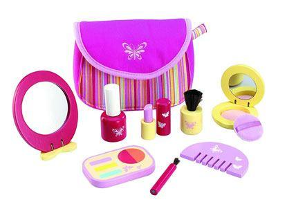 Pretend Pinky Cosmetic Girl Toy Set