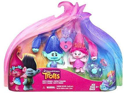 Trolls Poppy and Branch Exclusive Action Figure