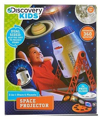 2-in-1 Stars & Planet Space Projector