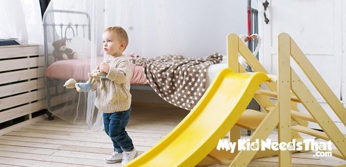 indoor toddler slide