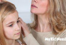 kids lice hair
