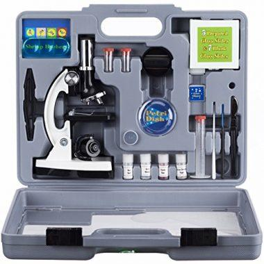 M30-ABS-KT2-W Beginner Microscope Kit by AmScope