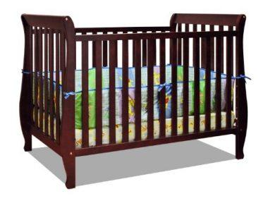 Athena Naomi 4 in 1 Crib with Toddler Rail