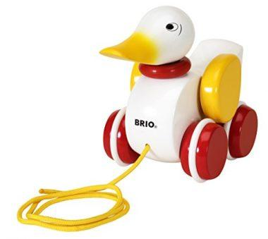 Pull Along Duck Baby Toy by Brio