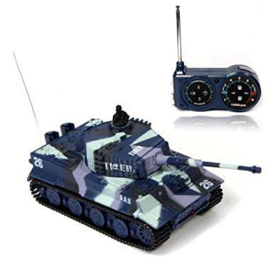 1/72 Scale German Tiger I Panzer Tank with Remote Control by BlueFit