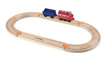 Chuggington Wooden Railway Easy Track Starter Set – Wilson Rides the Rails