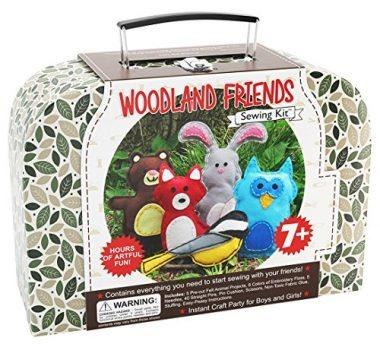 Woodland Animals Craft Educational Sewing Kit by Craftster's Sewing Kits