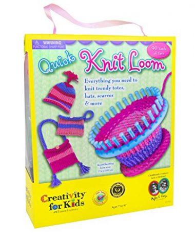 Best Toys For 10 Year Old Girls Creativity Kids Quick Knit Loom