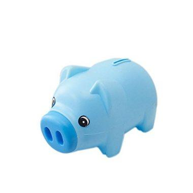 Ookamiwolf Cute Pig Money Box Piggy Bank