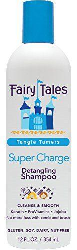 Fairy Tales Super-Charge Detangling Shampoo for Kids