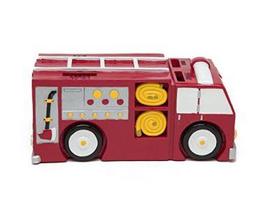 Fire Truck Coin Bank – Coin Bank for Boys – Teach Financial Literacy for Kids – Perfect Kids Money Bank – Piggy Bank of the Future by Money Scholar