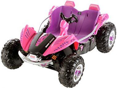 fisher price bck89 power wheels dune racer pink purple