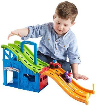Fisher-Price Little People Wheelies Race and Chase Carrier