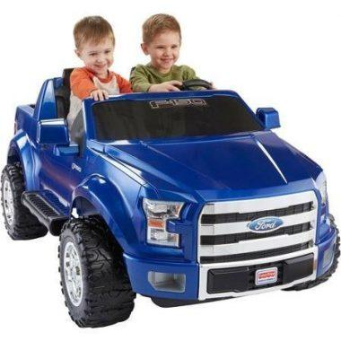 fisher price power wheels ford f 150 12 volt battery powered ride on blue