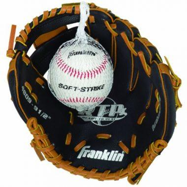 Franklin Sports Teeball Performance Gloves & Ball Combo