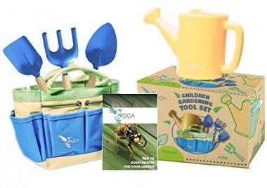 Gardening Tools for Kids with STEM Early Learning Guide by ROCA Home