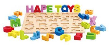 Alphabet Stand Up Wooden Puzzle
