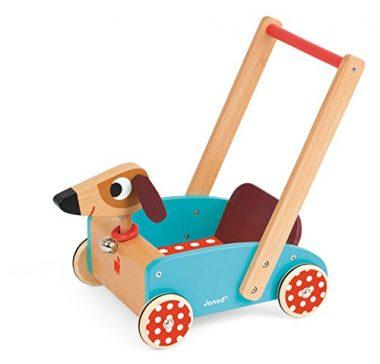 Janod Crazy Doggy – Walking Cart Toy, Mixed
