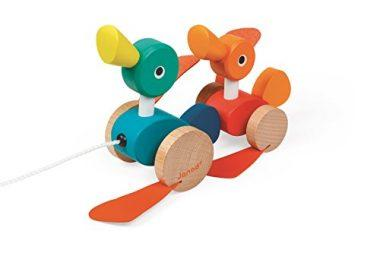 Janod Janod Duck Family Pullalong Toy Toy