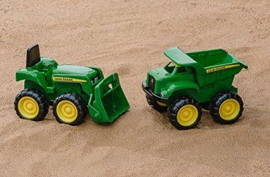 Sandbox Vehicle Truck and Tractor