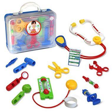 Kidzlane Deluxe Doctor Medical Kit – Pretend and Play Set for Kids