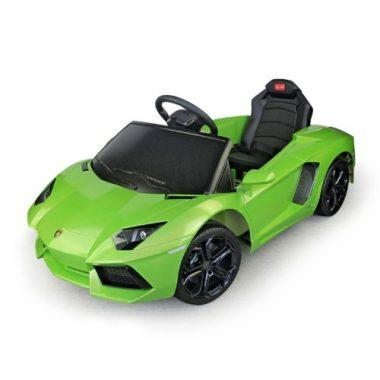 lamborghini aventador kids 6v electric ride on toy car w parent remote control green