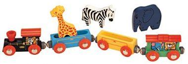 Maxim Wooden Animal Train Set