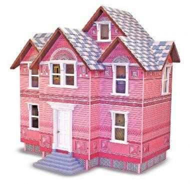 Classic Heirloom Victorian Wooden Dollhouse