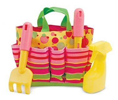 Sunny Patch Blossom Bright Gardening Tote Set With Tools