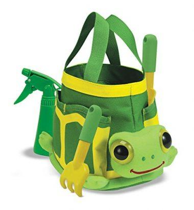 Melissa & Doug Sunny Patch Tootle Turtle Gardening Tote Set With Tools